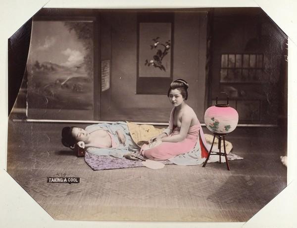 Редкий альбом фотографий «Япония». Нач. ХХ в.