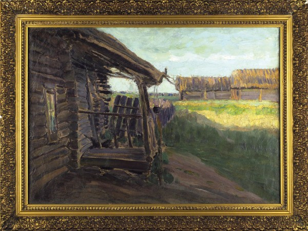 Виноградов Сергей Арсеньевич (1869-1938) «Летний день». Конец 1890-х-начало 1900-х. Холст, масло, 55,9 х 79,6 см.
