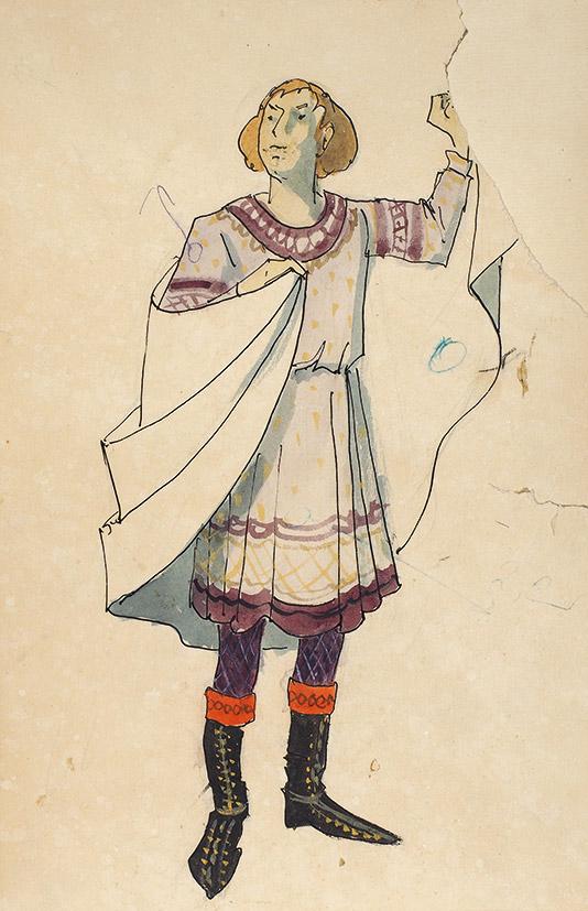 Рисунки театральных костюмов