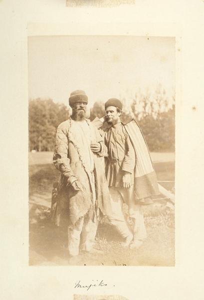 Каррик, В.А. Фотография «Мужики» из серии «Русские типы». 1870-е гг.