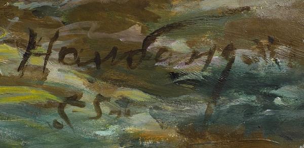 Налбандян Дмитрий Аркадьевич (1906–1993) «Восход на море». 1955. Холст, масло, 102 х 134 см.