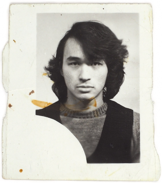 Виктор Цой. Фотография на студенческий билет. 1974 г.