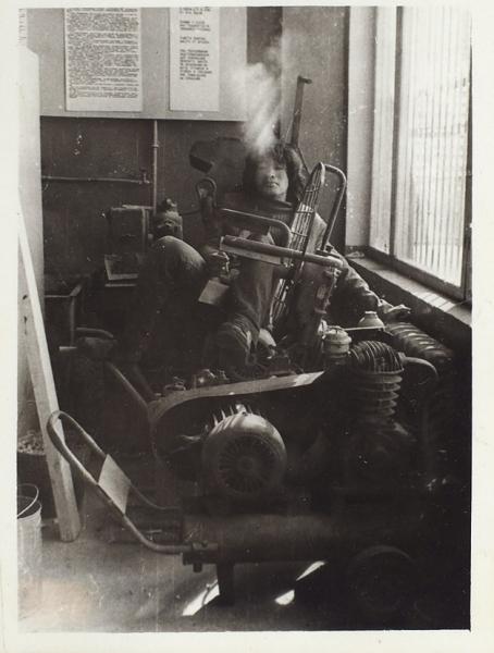 Семь редчайших ранних фотографий Виктора Цоя. Середина 1970-х годов.