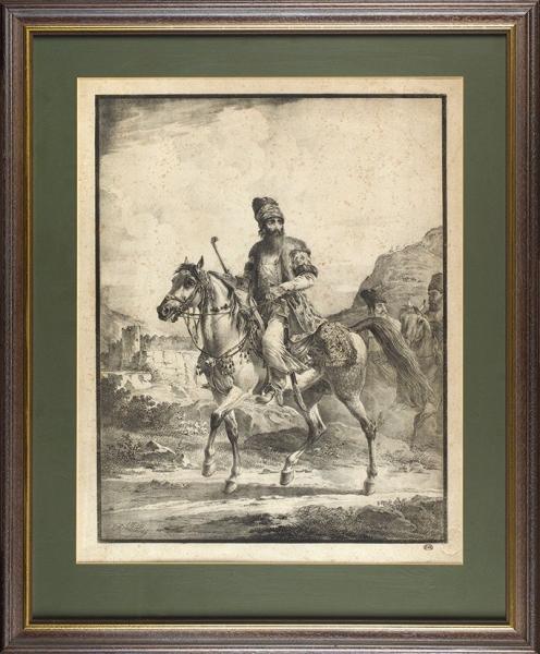Орловский Александр Осипович (1777—1832) «Персидский всадник». 1819.