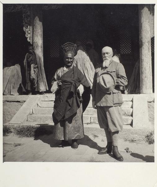 Пять фотографий из Маньчжурской экспедиции Николая Рериха. 1934.
