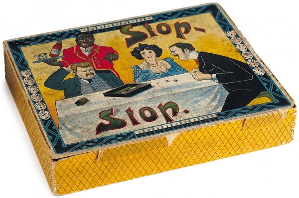 Настольная игра в кости «Stop-stop». Кон. XIX - нач. ХХ в.