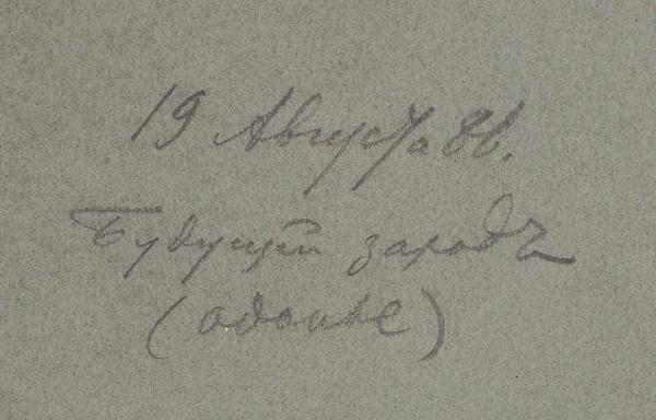 Рябушкин Андрей Петрович (1861–1904) «Будущий зарод». 1886. Бумага на бумаге, графитный карандаш, белила, 31,5 х 50,6 см.