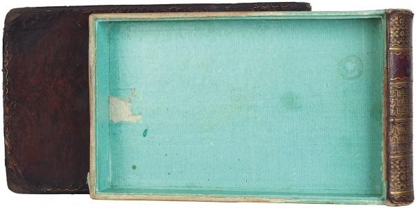[Шкатулка для хранения любовных записок и локонов волос] Памятник дружбе [Denkmal der Freundschaft]. [Конец XVIII - начало XIX вв.].