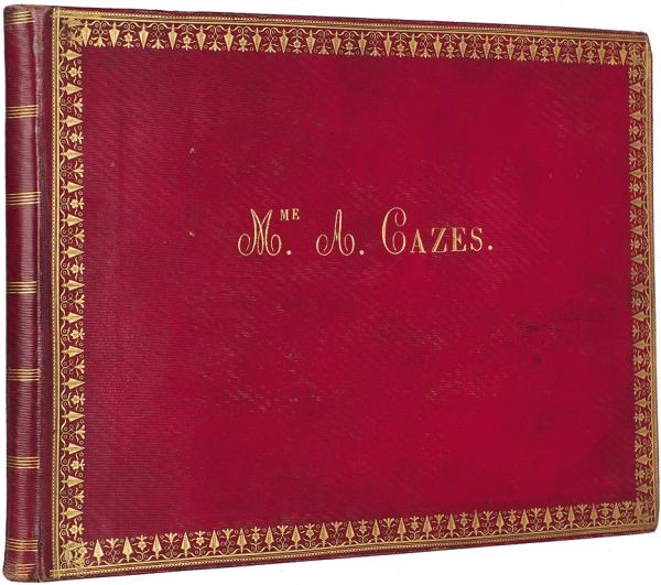 Дамский альбом мадам Лас-Каз, супруги секретаря Наполеона на острове Св. Елены. 1820-е гг.