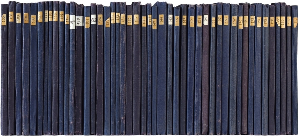 [С единственной книгой, запрещенной цензурой] «Жизнь замечательных людей». Биографическая библиотека Ф. Павленкова. Коллекция из 183 дореволюционных книг серии. СПб.: Общественная польза, 1890-1915.