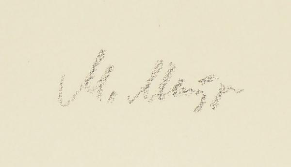 Митурич Май Петрович (1925–2008) Эскиз иллюстрации кА.Барто «Лебединое горе». 1975. Бумага, акварель, 32,3×21,6см.