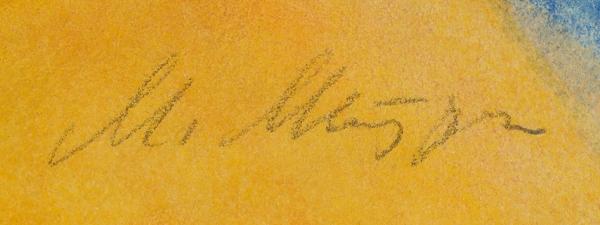 Митурич Май Петрович (1925–2008) Иллюстрация ксказке С.Маршака «Угомон». 1967. Бумага, смешанная техника, 53,5×40см.