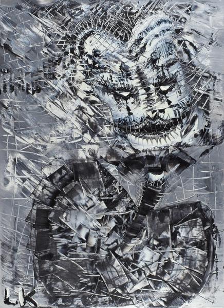 Калинкина Светлана. «Пиковая дама». 2016. Холст, масло. 70×50см. Наподрамнике.