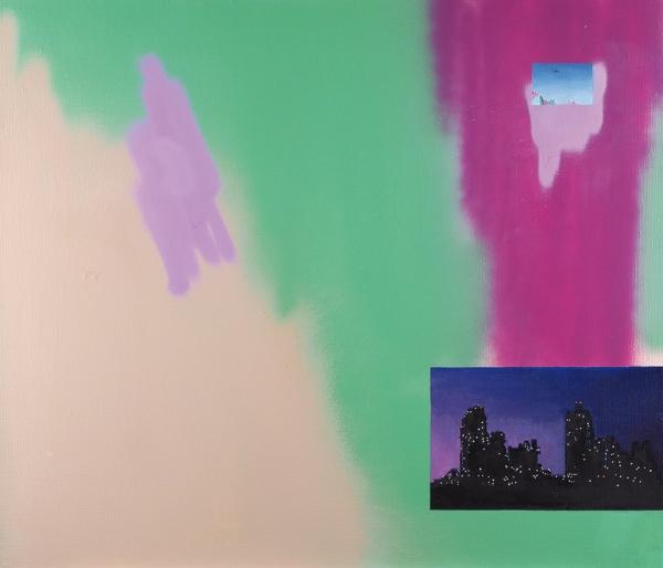 Солдатов Альберт. Изсерии «Pic Related». 2018. Холст, масло, акрил. 60×70см. Наподрамнике.