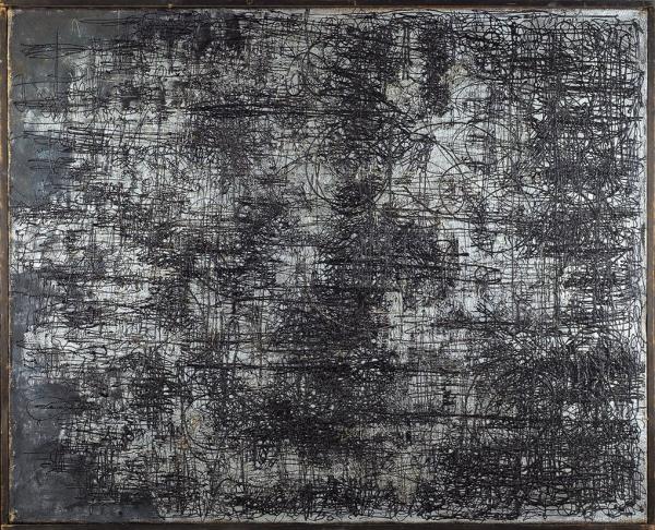 Плавинский Дмитрий Петрович (1937–2012) «Космос, мироздание». 1964. Холст, масло, 100×81см.