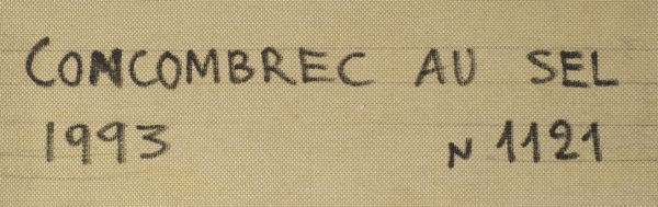 Рабин Оскар Яковлевич (1928–2018) «Concombrec ausel». 1993. Холст, масло, 89,5×116см.