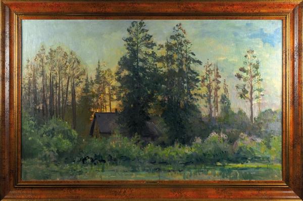 Куприн Александр Васильевич (1880–1933) «Пески. После дождя». 1940-е-1950-е. Холст, масло, 80,3×129,4см.