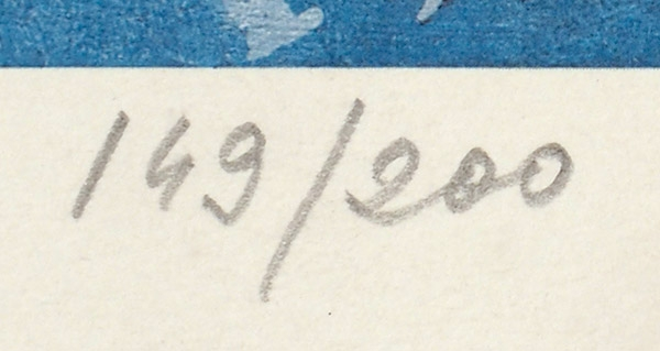 Жарких Юрий Александрович (род.1938) «Перестройка». 1990. Бумага, цветная автолитография, 50×65см.