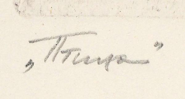 Пузанков Корнил Владимирович (род.1974) «Птица». 2010. Бумага, офорт, медь, резерваж, 37,8x28,1 (лист), 17,6x13,5см (оттиск).