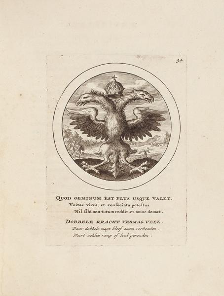 Избранные эмблемы. [Emblemata selectiora. Налат.яз.]. Амстердам: Apud Franciscum vander Plaats, 1704.