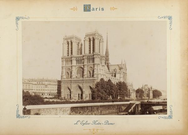 Роскошный альбом фотографий «Париж иокрестности». Париж: A.Hautecoeur, б.г.