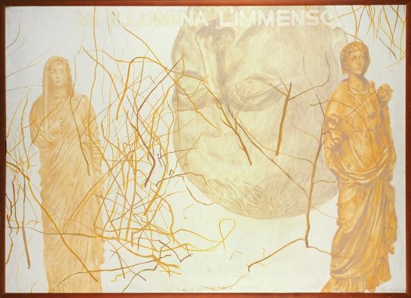 Горматюк Александр. «Цезарь II». 1990. Холст, масло. 95x135см.