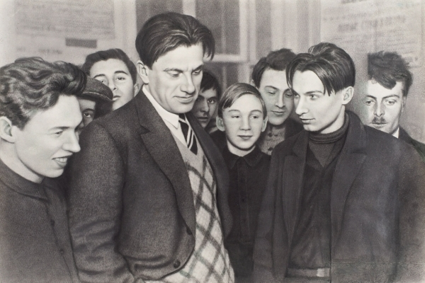 Маяковский, В. 9ранних фотографий. 1905-1938.