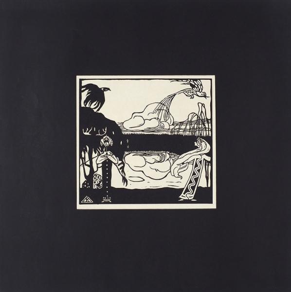 Кандинский, В.Ксилографии. [Kandinsky. Xylographies. Нафр.яз.] Париж, 1909.