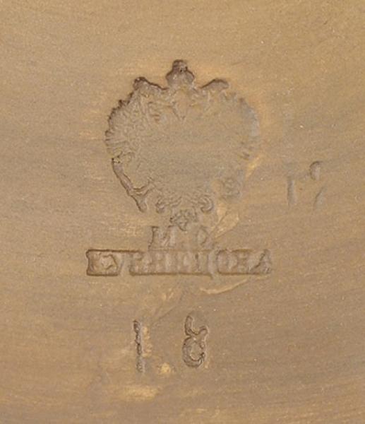 Врубель Михаил Александрович (1856–1910) Керамическое блюдо «Венецианский дож». 1880-е. Терракота, обжиг, масло, акварель, сепия. Диаметр 46см.