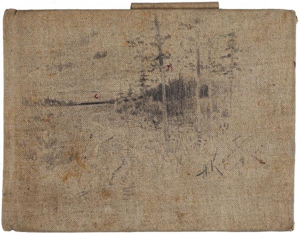 Корин Алексей Михайлович (1865–1923) Альбом рисунков. 33листа. 1891-1892. Бумага, графитный карандаш, тушь, перо. Размер альбома 13,5×17,7см.