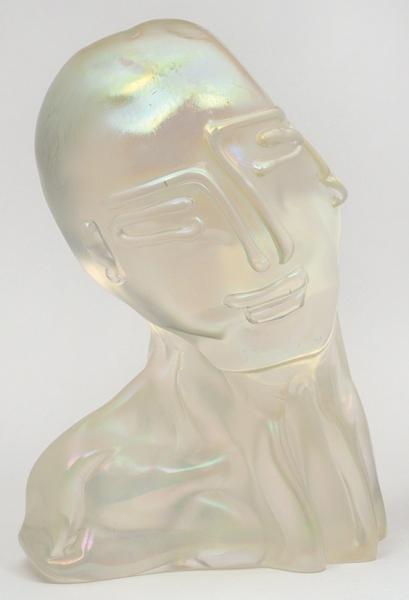Бенцони (Benzoni) Луиджи (род.1956) «Лик». 2005. Стекло. Высота 35см.