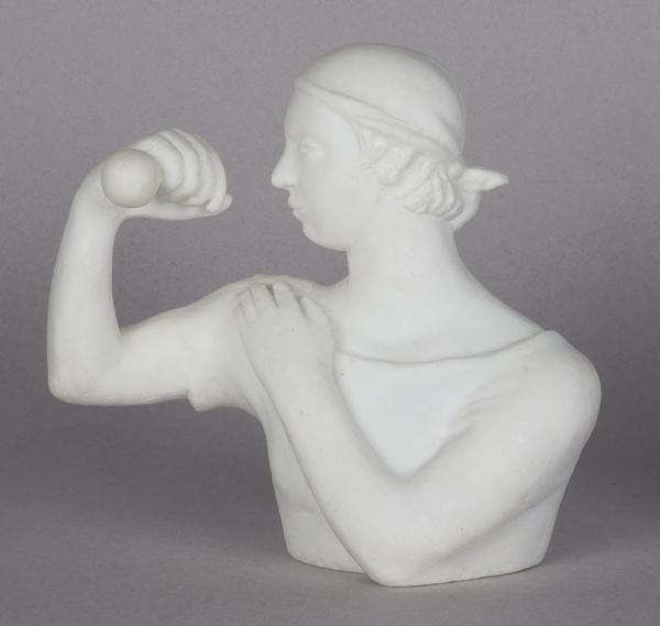 Антошина Таня. Скульптура «Мыможем». 2013. Резина. 17×8х 16см