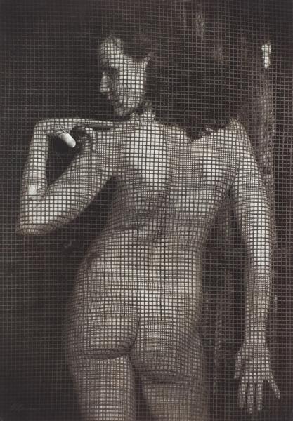 Баранов Вячеслав. «NU». 2004. Бумага, желатин, серебряная печать. 30×40см.