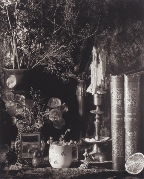 Баранов Вячеслав. Изсерии «Петербургские сумерки». 1997. Бумага, желатин, серебреная печать. 40×50см.