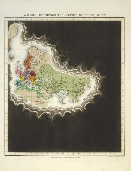 [ОтРимской империи доИмперии монголов] Семь исторических карт Евразии. VIв. дон.э. —XIIIв./ Engraved bySid. [Наангл.яз.]. Лондон: Seeley &Burnside, 1828.