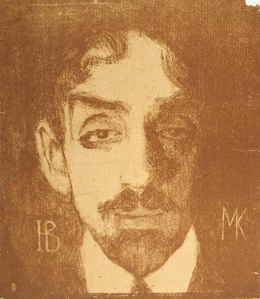 Войтинская, Н.Михаил Кузмин. Автолитография.1909.