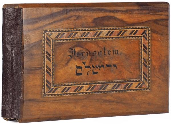 [Альбом видов игербарий] Иерусалим. Цветы ивиды Святой Земли. [Ierusalem]. [1910-е].