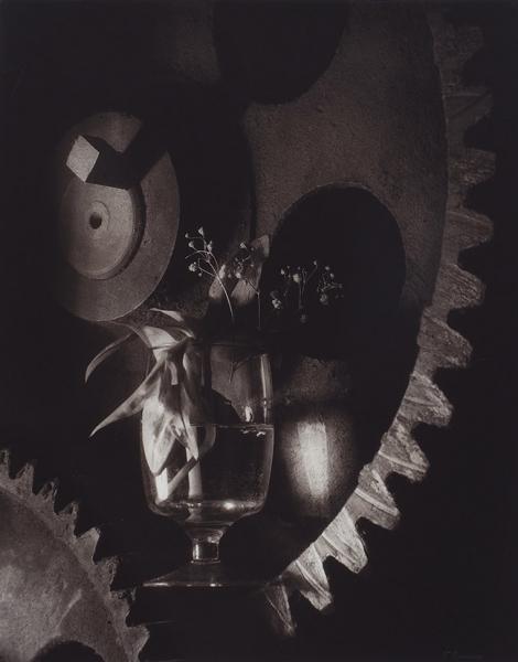 Баранов Вячеслав. Изсерии «Петербургские сумерки». 1997. Бумага, ручная печать, желатин, серебряная печать, тонирование. 40×50см.