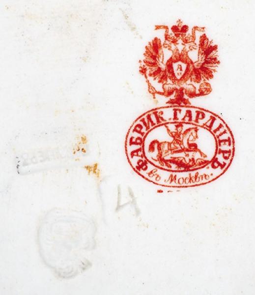 Скульптура «Старик назавалинке». Россия, фабрика Ф.Я. Гарднера. 1870-е-1890-е. Бисквит, роспись. Высота15,5см.