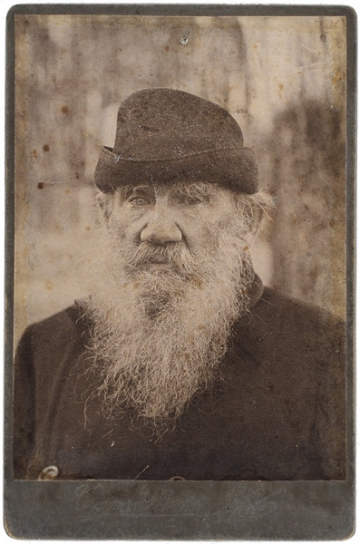 Толстой, Л.Кабинетный портрет/ фот. Отто Ренар. [Ясная поляна, 1900-е гг.].