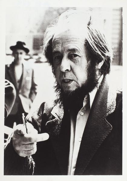 Солженицын, А.Три фотографии. 1983-1989.