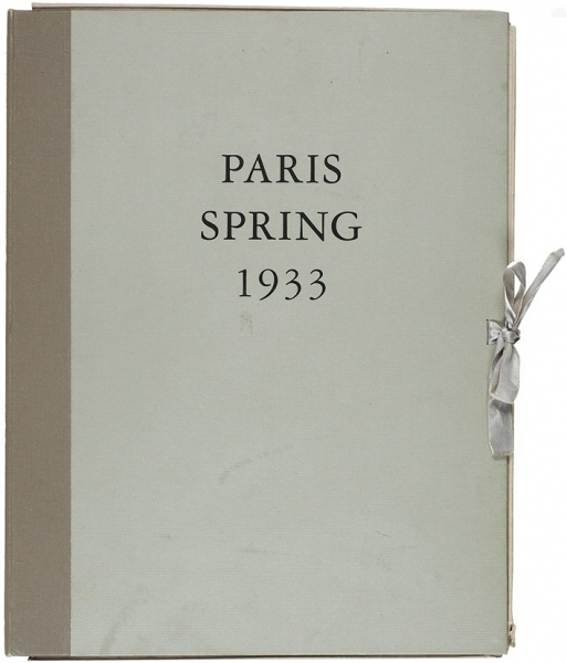 [Эротический альбом; 18+] Рожанковский, Ф.Парижская весна. Paris Spring 1933. Лимитированное репринтное издание сприватного издания 1933года. Лондон: The Erotic Print Society, 1993.
