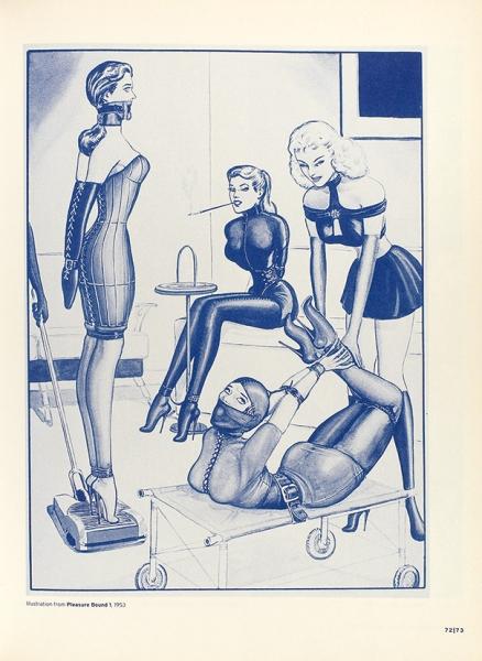 [Альбом больше среднего] Творчество Эрика Стэнтона для мужчин, знающих свое место. [Наангл.яз.] Taschen, 1997.
